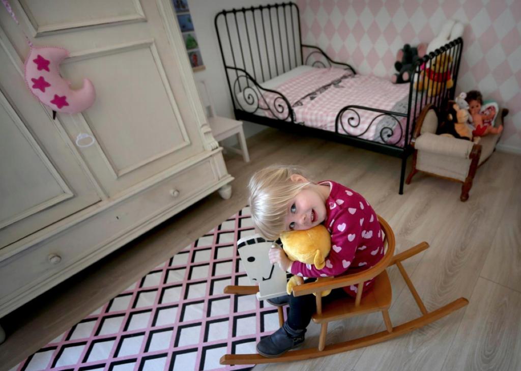 Yinthe haar slaapkamer