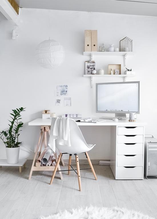 werkplek thuis via ikea