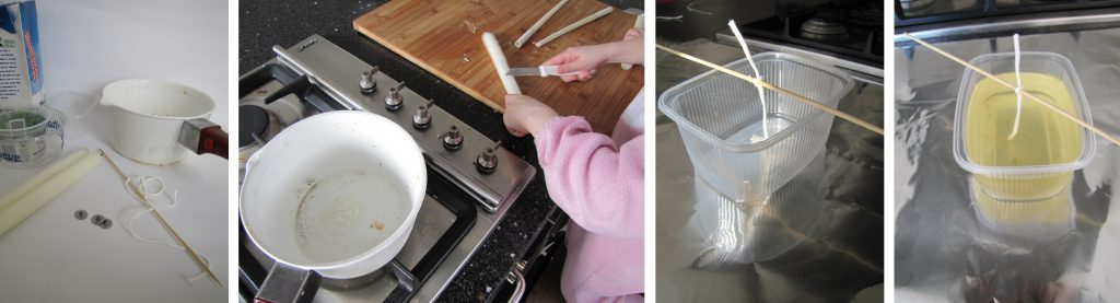 stappenplan kaarsen maken