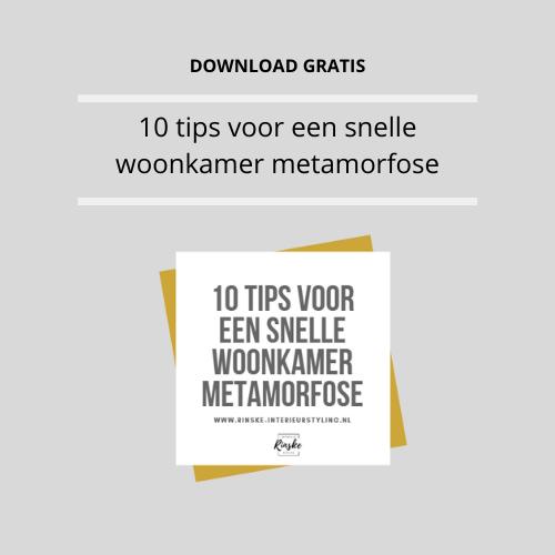 10 tips voor een mini metamorfose