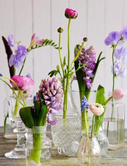 bloemen in huis, lente in huis
