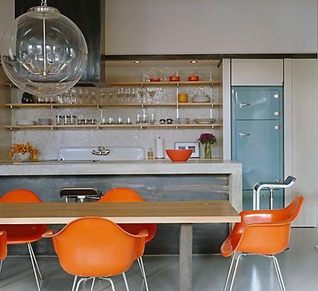 oranje eetkamerstoelen
