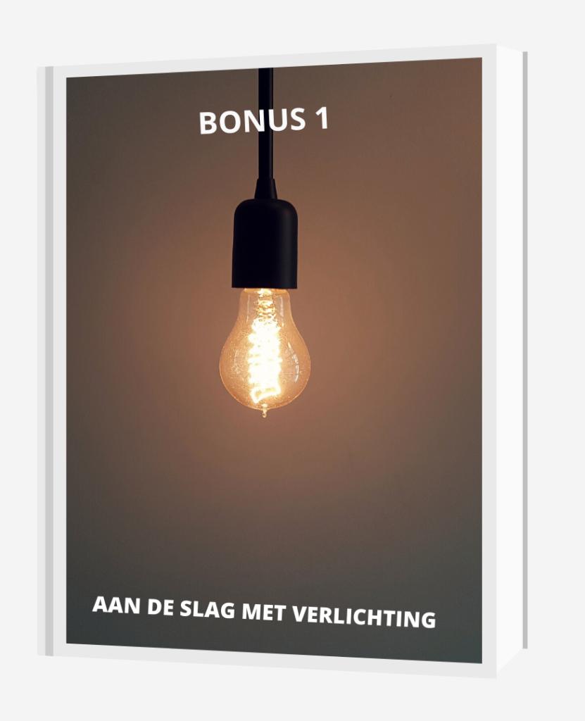 bonus 1 aan de slag met verlichting