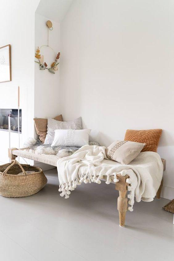 ibiza boho stijl in de woonkamer