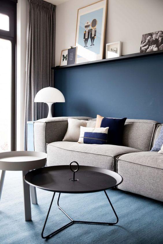 kleurencombinatie in woonkamer