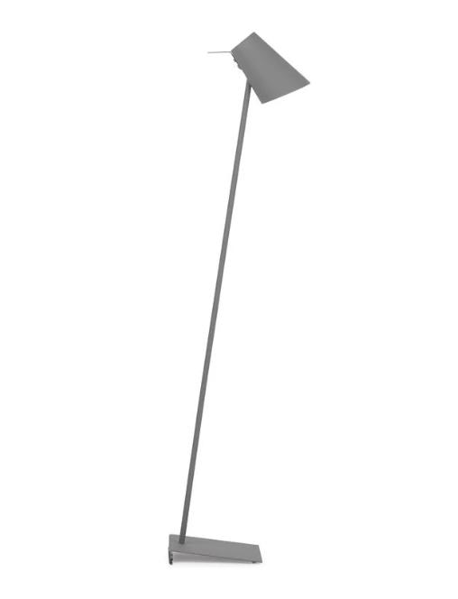 cardiff vloerlamp grijs