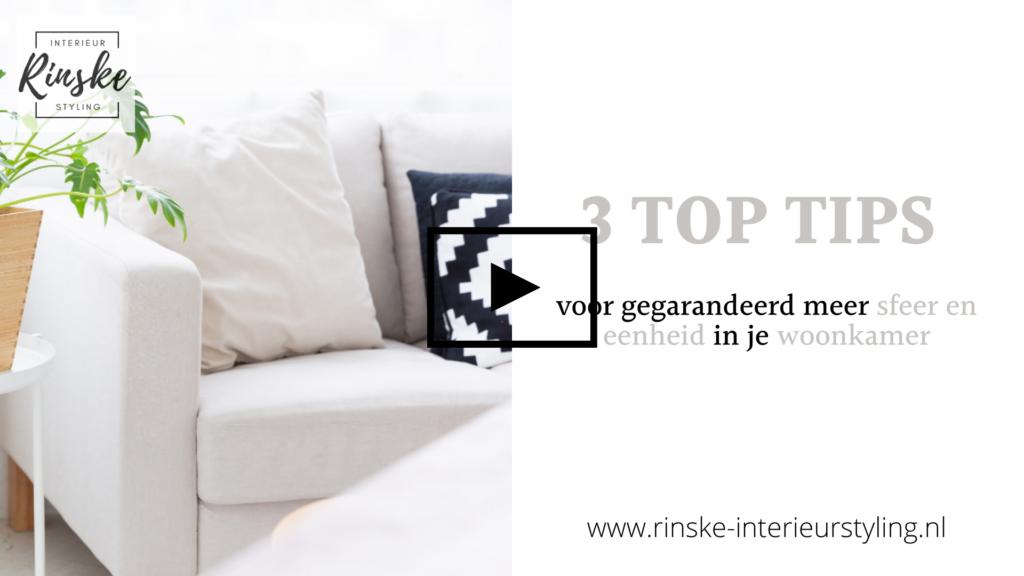 3 top tips voor sfeer en eenheid in je woonkamer