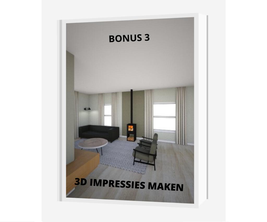 bonus 3 3d impressies maken